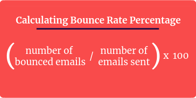 formula for bounce rate percentage